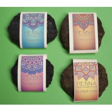 Solid Shampoo with Henna and Argan oil